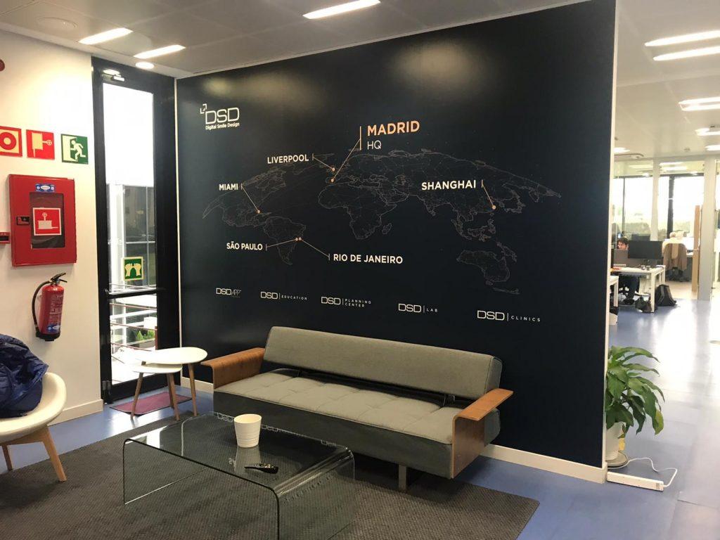 Decoración de oficinas, imagen corporativa